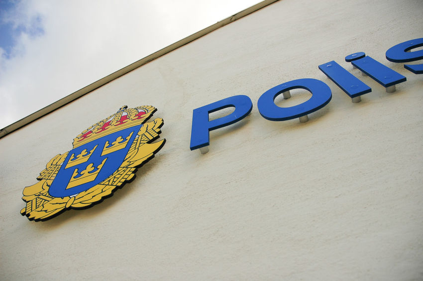 Swedish police signs Sign Wall Sign Outdoors Sign Polisen Polisvapen Sommarpolis Swedish Police Swedish Police Logo Swedish Police Sign