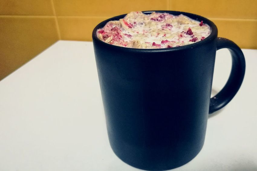 Taza Cereales Food And Drink Drink Sweet Food Food Day Strawberry Blueberry Fresa Leche Milk
