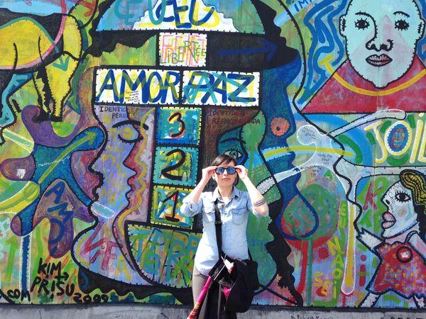 Amor y paz Berlin Berliner Mauer