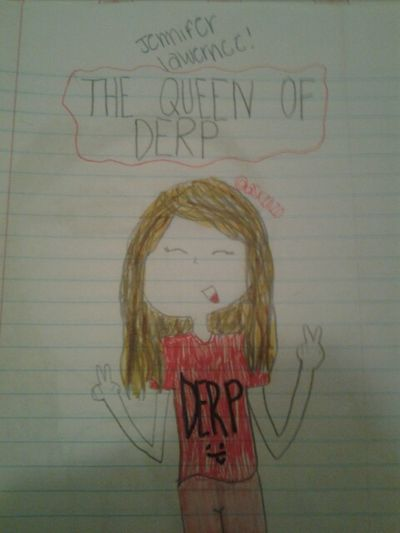 #jenniferlawernce #jen #jennifer #lawernce #queenofderp #derp #queen #of