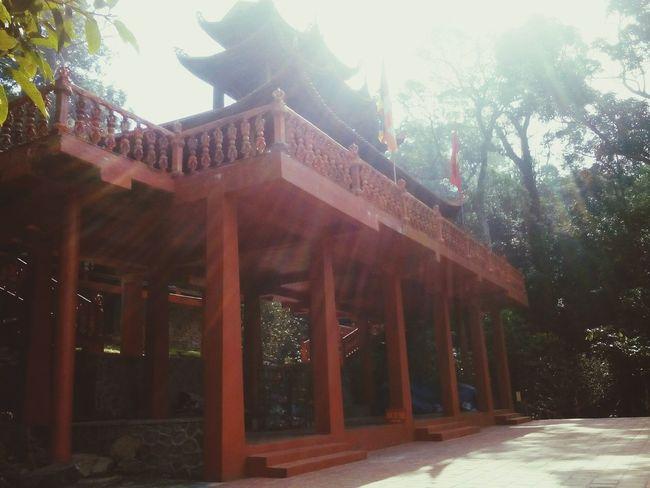😁Sunshine Pagoda First Eyeem Photo ở Tây Thiên Pagoda Vĩnh Phúc Vietnamese