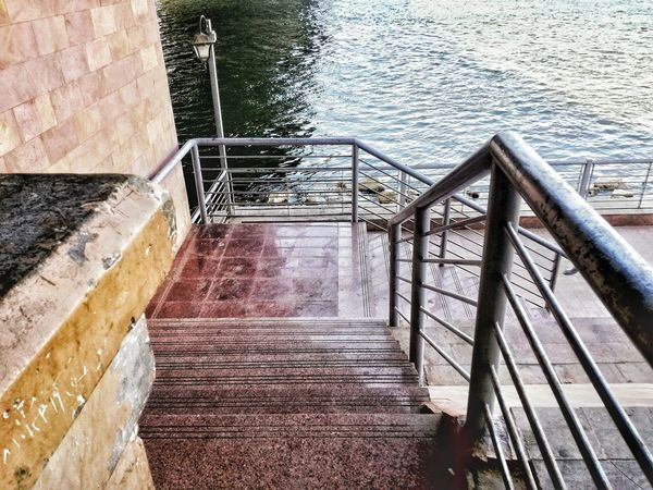 Steps Railing Staircase Steps And Staircases Outdoors No People Built Structure Day Architecture EyeEm EyeEm Gallery The Week On EyeEem EyeEmBestPics EyeEm Best Shots EyeEm Best Edits Team EyeEm The Secret Spaces Beauty In Nature Feature Background Water The City Light Nile River Cairo Egypt EyeEmNewHere The Street Photographer - 2017 EyeEm Awards
