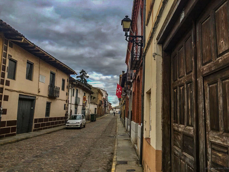 Camino CaminodeSantiago Cloud - Sky Jakobsweg Residential Building Residential Structure Sand The Way Forward
