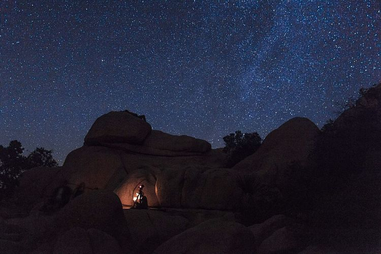 Shadow People Night Star - Space Adults Only People Astronomy Adult Milky Way Galaxy Sky Nature Space Outdoors Illuminated Tent Constellation Beauty In Nature Joshua Tree National Park Rock Hoodoo Science Adventure Star Field Low Angle View Constellation Exploration Rock Formation Be. Ready.