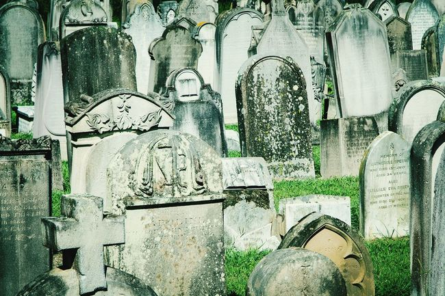 Nikon D5100  Cemetery Photography Tombstone Weathered Stone Graveyard Beauty Many Objects Outdoors Day