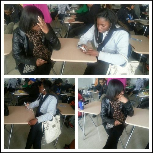 Lafiel Was Snapping Pics Of Us !