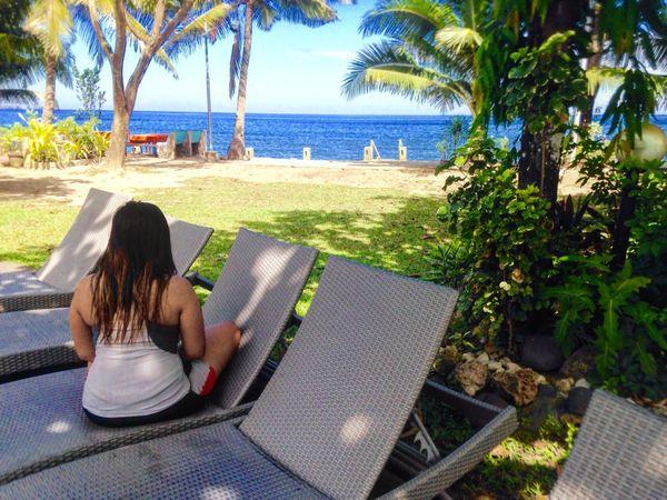 #beach #Blue #horizon #Nature  #Relaxing #resort #sea #sky