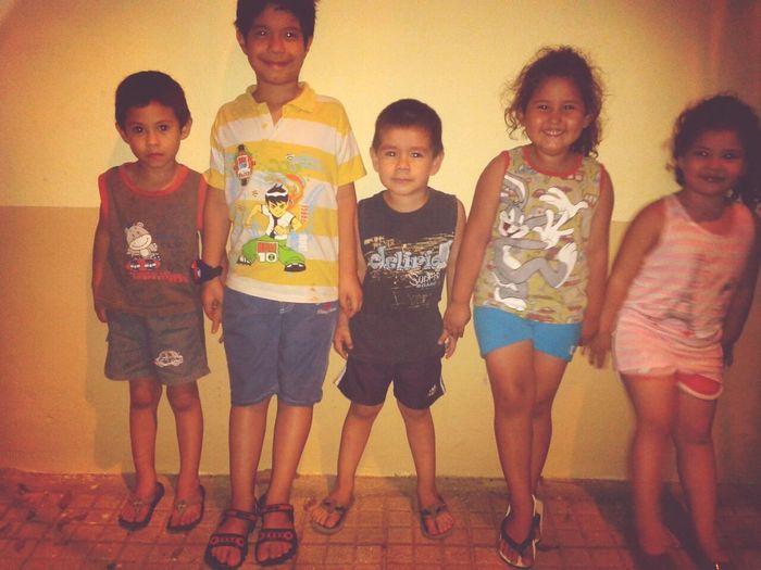Los peques del barrio! Kids