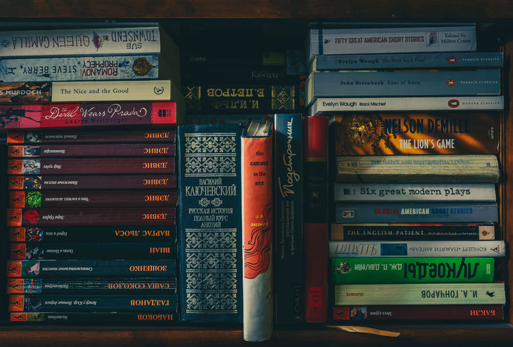 Books Objects Abundance Arrangement Backgrounds Book Book Shelves Close-up Communication Education Full Frame In A Row Indoors  Multi Colored No People Publication Stack Still Life Text