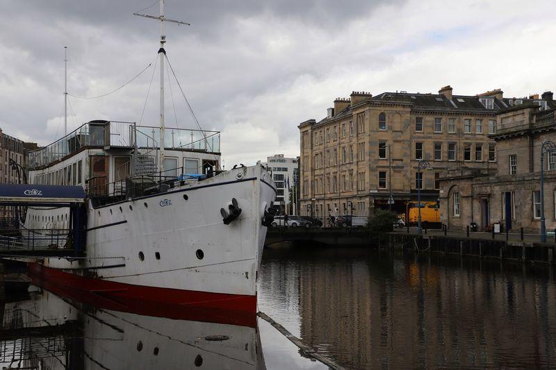 Old boat in