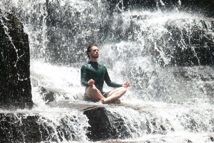 Nature Nature_collection Eyem Gallery Peace ✌ Meditation Waterfall Water_collection EyeEm Eyemphotos Brazil Me relaxing with nature.