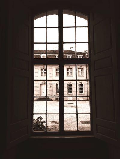 Schloss Wilhelmstal Window Windows Historical Building Architecture Historical Kassel Schloss Bw_collection Black & White Blackandwhite Photography