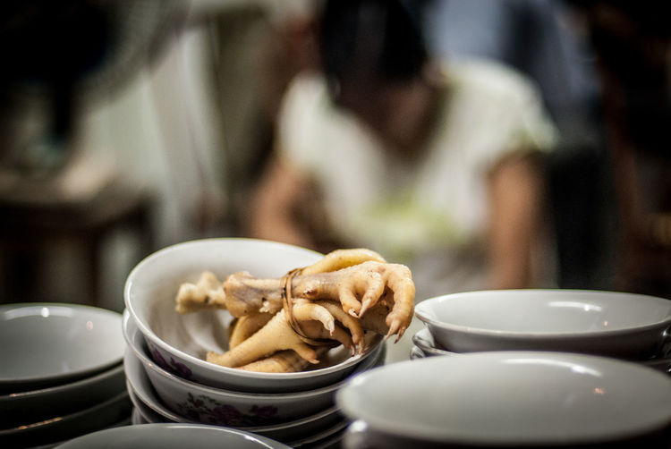 Into The Soup The Traveler - 2018 EyeEm Awards The Week Of Eyeem The Week on EyeEm Vietnamese Food Different Tastes Focus On Foreground Food Food And Drink Foodphotography Kitchen Utensil People Out Of Focus Ready-to-eat Selective Focus