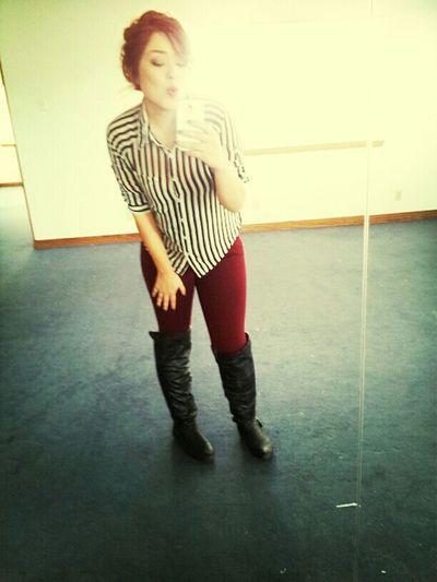 Mirror pic in my empty gym lol