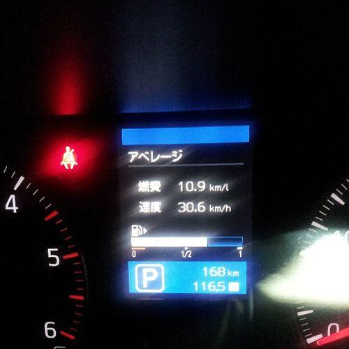 第二京阪降りてからハルカスの横までの燃費 NV350  キャラバン Car  燃費