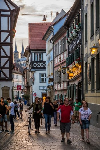 Bamberg  Centre Schlenkerla Brewery Beer Bier Restaurant UNESCO World Heritage Site Bamberger Germany Deutschland German Beer Travel Tourist Bayern Bavaria
