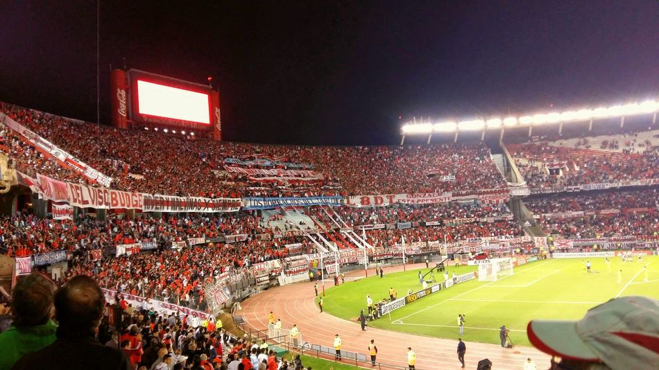 Momumental River Plate Lbdt Los Borrachos Del Tablon Stadium Supporters