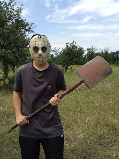 Eye4photography  EyeEm Horror Horror Photography Horror Portrait Maniac Mask - Disguise Scary Face Weapon