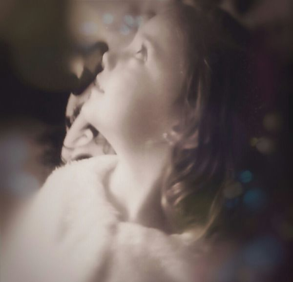 The Wonder Of It All Portrait Portrait Of A Girl My Granddaughter Christmas Memories