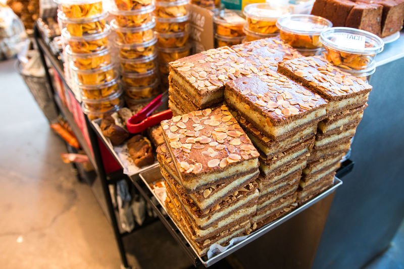 Amsterdam Appetizer Bakery Brown Close-up Dessert Food Freshness Healthy Eating Hipster Indulgence Large Group Of Objects Meal No People Nogluten Ready-to-eat Retail  Selective Focus Shopping Snack Snack Sweet Temptation