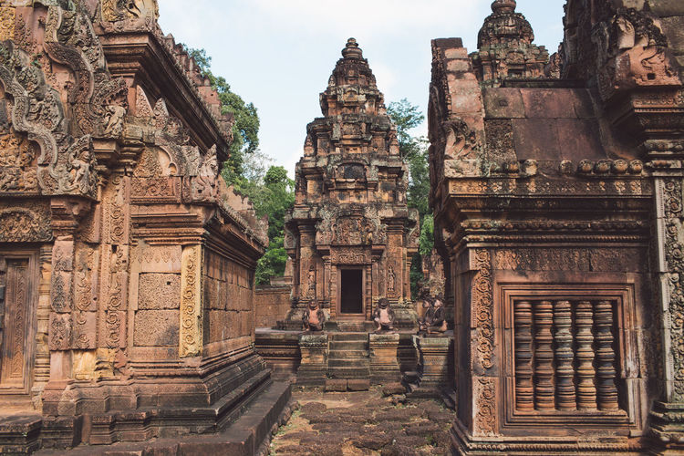 Siem Reap Cambodia Angkor Built Structure Architecture Religion Belief History Place Of Worship The Past Spirituality Building Building Exterior Ancient Old Travel Destinations Travel Day Ancient Civilization Tourism No People Outdoors Archaeology Ornate Carving Ruined