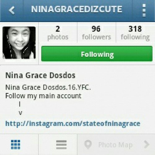 I really want to delete this account pero di pwede eh. Atsaka sayang din naman yung followers ko. Tsk. -.- @ninagracedizcute 2ndacc