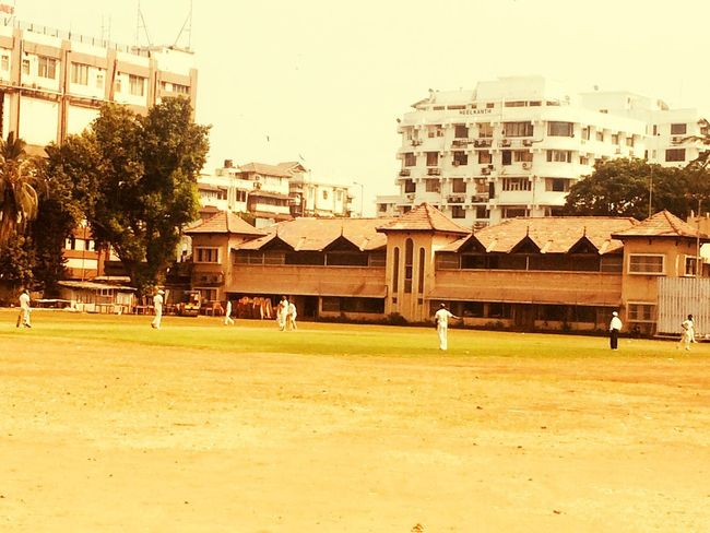 Cricket Ground Cricket Ground Architecture Built Structure Building Exterior Tree Day Real People Colour Your Horizn Grass Sky City Nature