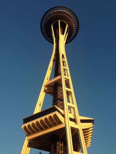 At the Space Needle Torchlight