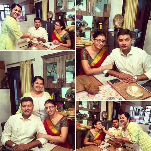 Celebrations Family Brothersister Bhaidooj Bhabinanad Love