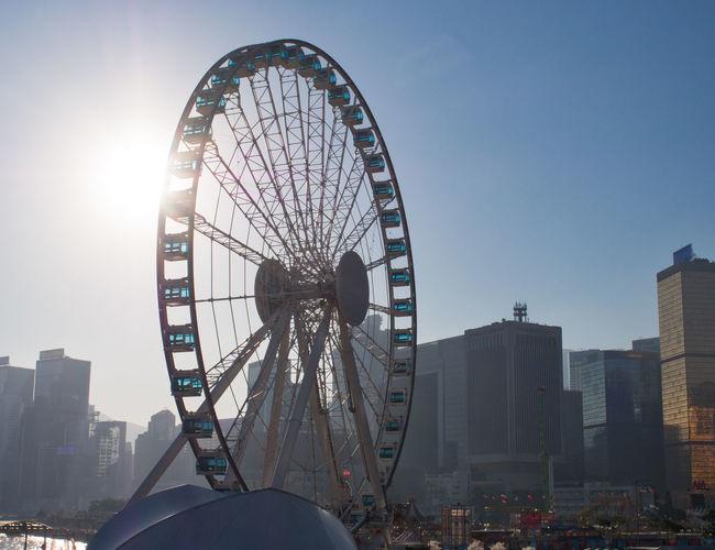The Hong Kong Observation Wheel Big Wheel City Ferris Wheel Observation Wheel Outdoors Travel Destinations