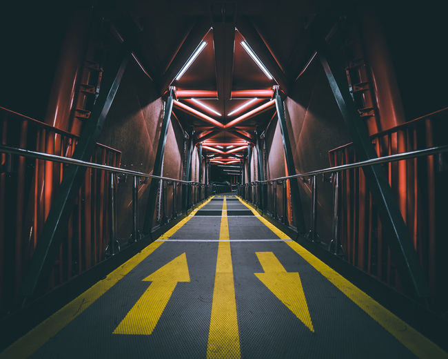 Embark. Symmetry Nightphotography Vanishing Point The Traveler - 2018 EyeEm Awards