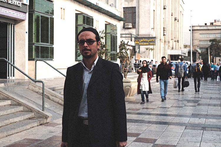 an Iranian businessman Outdoors People City Street Streetphotography Street Photography Streetphoto_color Man People Photography Street Life Iran Iran♥