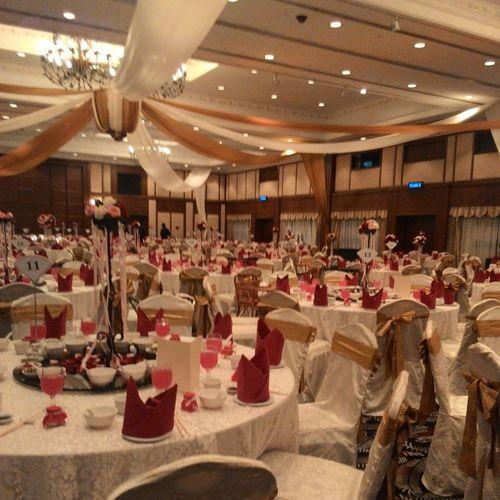 Banquet.. Chinese wedding.. FNB PartTimeJob Wedding Banquet
