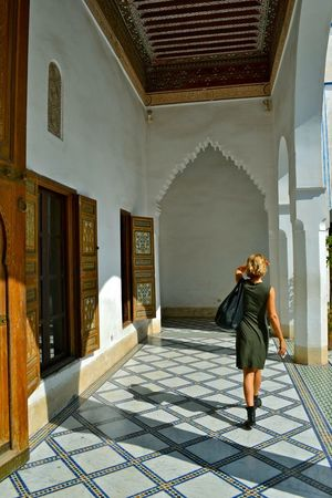 Mom - Marrakech , Love Traveling Visiting Knowing Hello World Africa Architecture Maroccan Style Light And Shadow Mom Decoration