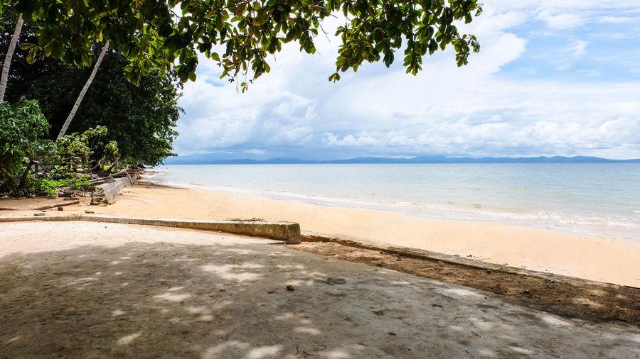 Ordinary beach