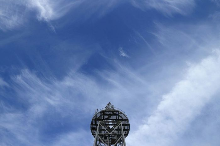 Cirrus cloud Cloud_collection  Cloudporn Clouds And Sky Blue Sky Lovely Weather Radiotower 鉄塔♡Love in Tokyo,Japan