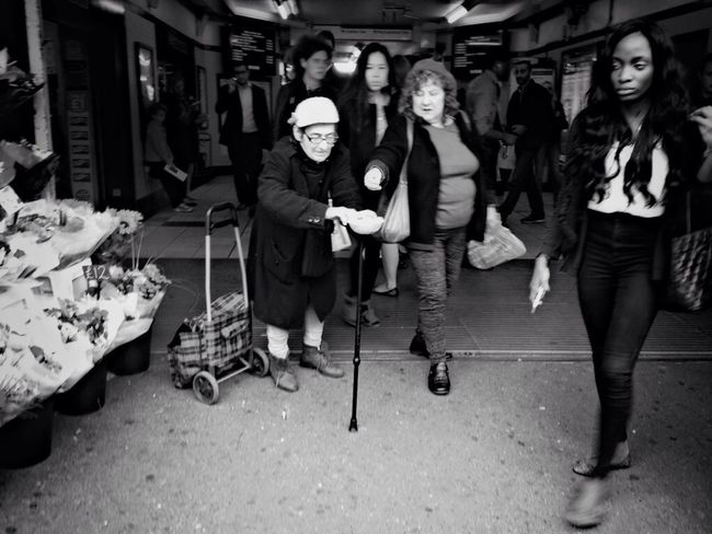 Notes From The Underground Street Photography Black And White
