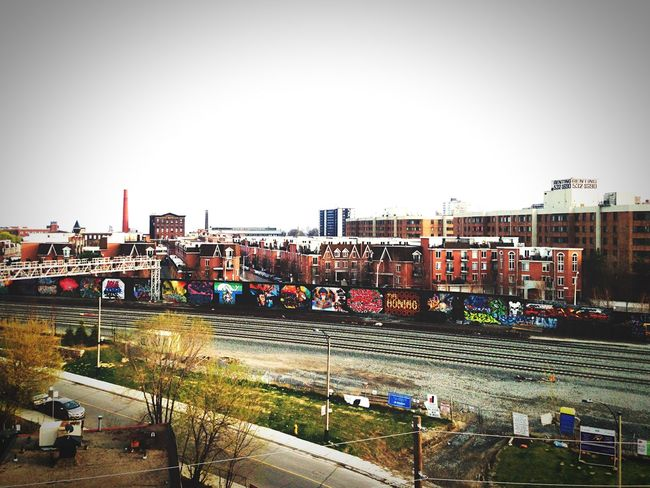 Cityscape city view from a rooftop in Downtown Toronto Taking Photos Torontoartist Parkdale Canada
