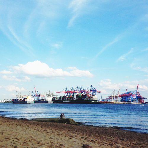 Hamburg Elbe Summer