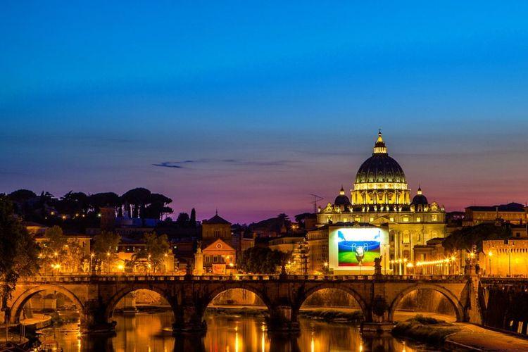 유럽 다시 가자 Taking Photos Europe Travel Nightphotography Italy Rome St.Peters Basilica 여행 유럽 베드로성당