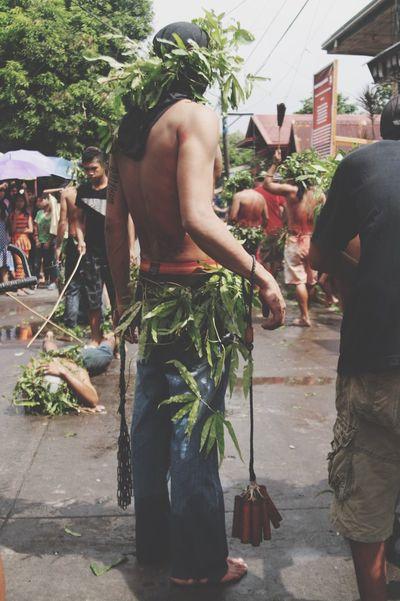 Self-Flagellation Wound Pain Holy Week Pavement Chain Woods Tall Fern Manila Philippines Photos EyeEm
