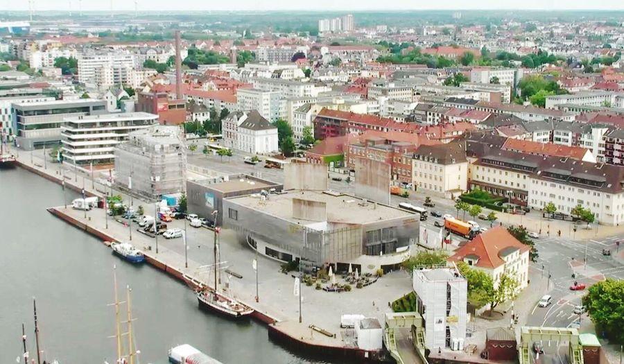 Architecture Building Exterior City Cityscape Outdoors Transportation Water Sky Bremen Bremerhaven