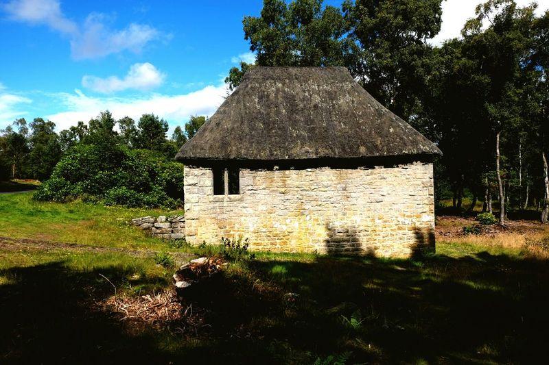 Blackburn boat house Northumberland National Trust Cragside X-M1 Architecture Green Color Summer Bricks