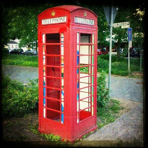 Telefonieren Oldschool und very British. #GB #Phone