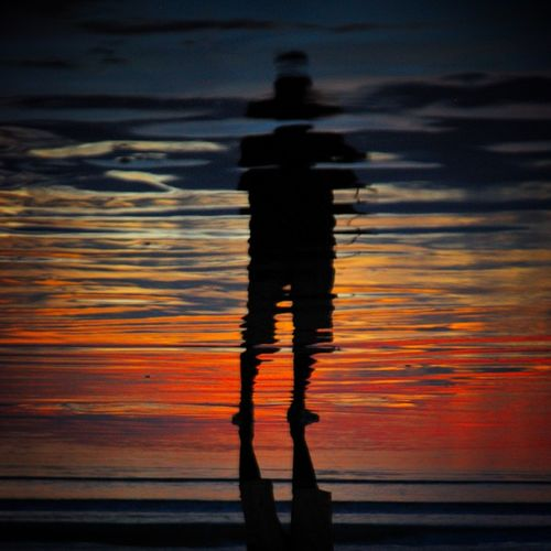 """One Moment Split"" - I'm Lost in Paradise series. Water Reflections Silhouette The Calmness Within I'm Lost In Paradise"