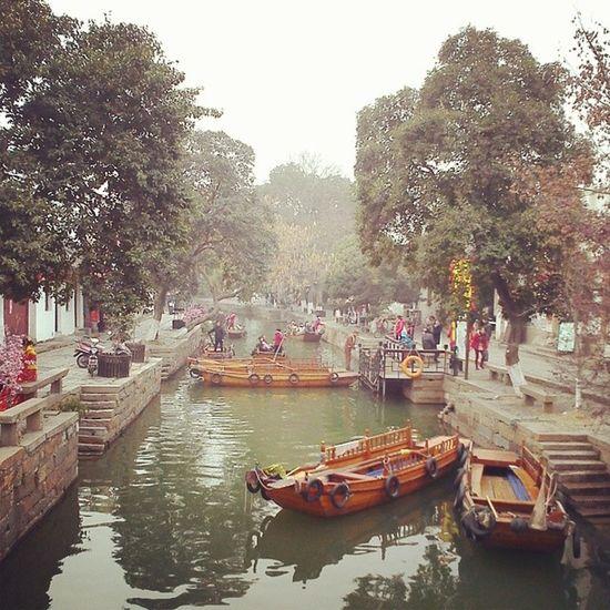 Water Town @Tongli ชมเมืองพันปีที่ถงลี่ Water Town Tongli China lifestyle boat canal