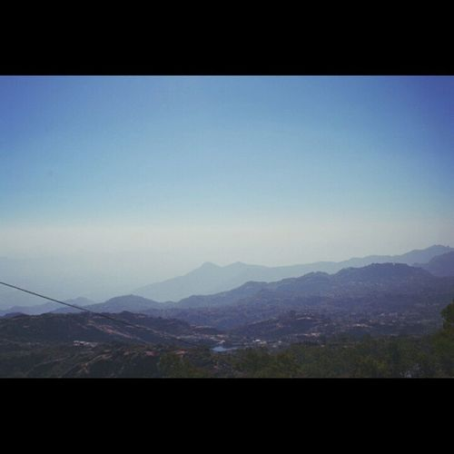 The wide blue sky 😍 Mountains Mountabu Vscocam Vscomumbai Vscoindia Minimil Minimilistic Vscorajasthan Beauty Scene Scenery India Incredible too many tags 😛😂