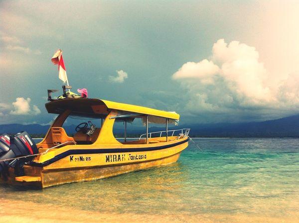 #sea#sky#sail#sunset#boat