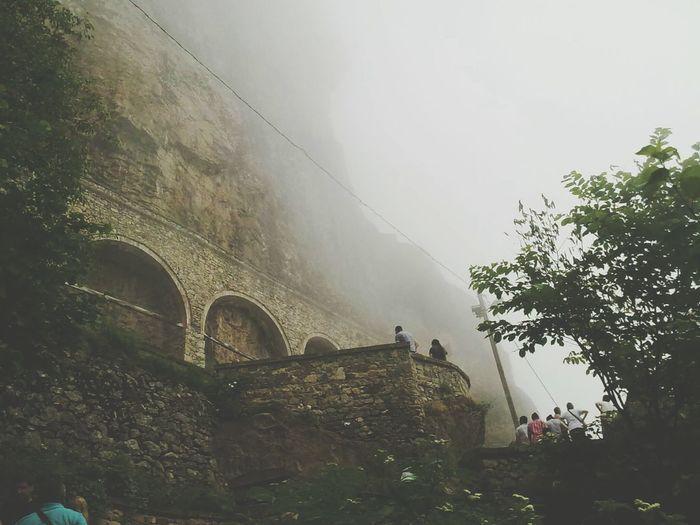 Sümela manastırı..