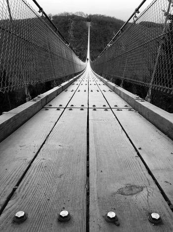 Longest rope bridge in Germany